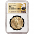 2018 Certified Gold Eagles (MS70)