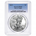 PCGS Certified Silver Eagles (MS69)