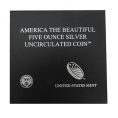 5 oz. Silver America The Beautiful (OGP)