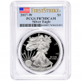 PCGS Certified Silver Eagles (PR70DCAM)