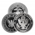 Military & Service Silver Medallions