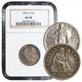 Quarters 25c