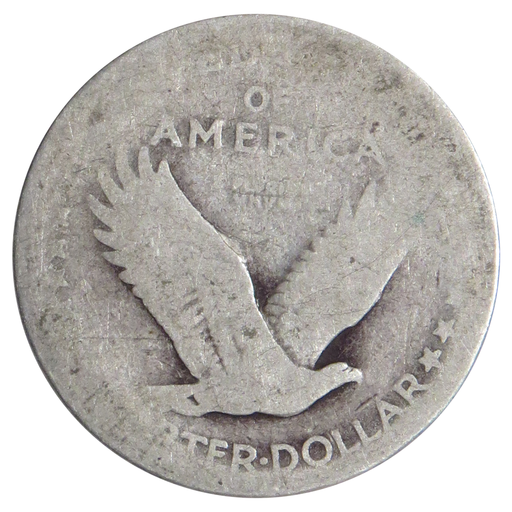 1916 To 1930 90 Silver Standing Liberty Quarters No Dates
