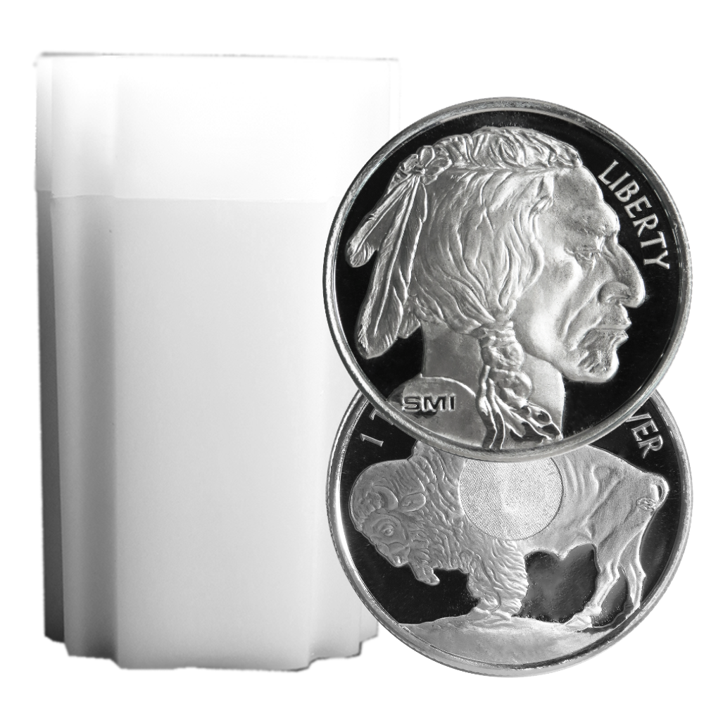 Lot Of 20 1 Troy Oz Sunshine Mint Buffalo 999 Silver