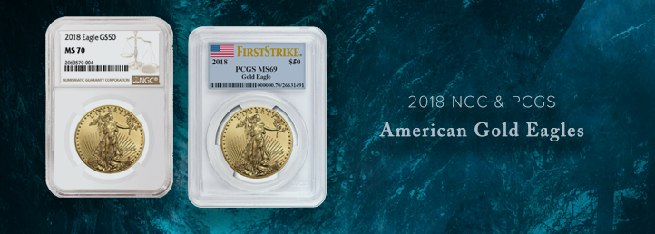 2018 Gold American Eagles
