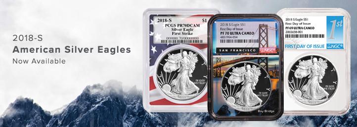 2018-S Silver Eagle