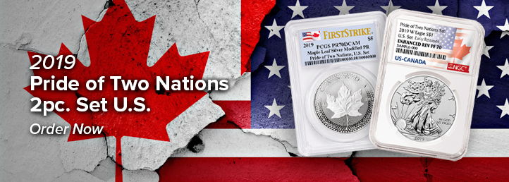 2019 Pride of two nations 2pc set US
