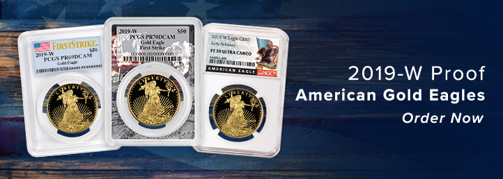 2019-W Proof Gold Eagles