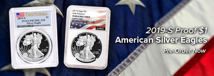 2019-S Proof $1 American Silver Eagle