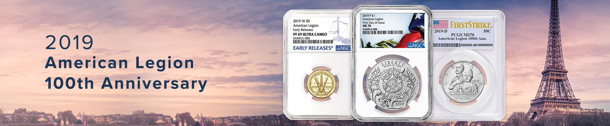 2019 American Legion Coins