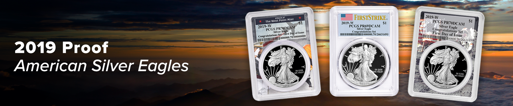 2019 Proof American Silver Eagles