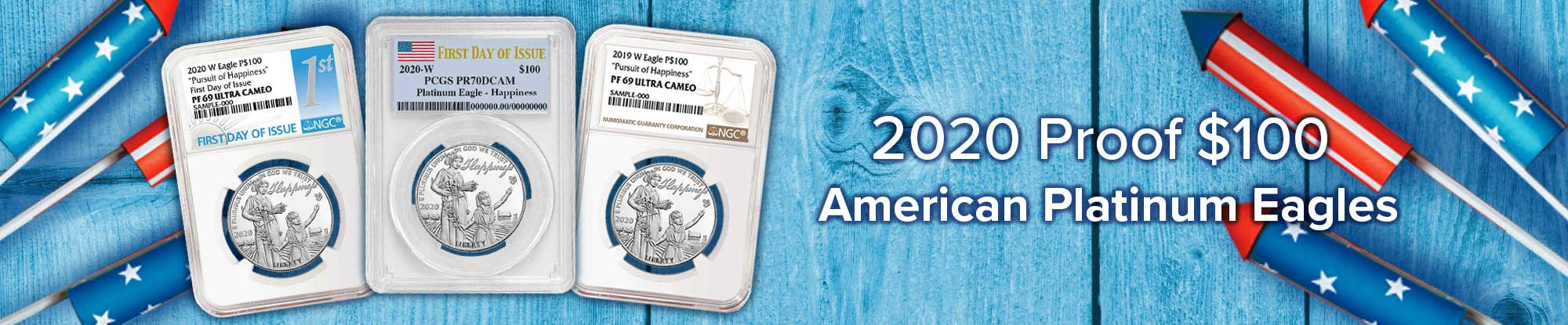 2020 Proof American Platinum Eagle