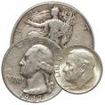 Silver Coins (90%, 40% & 35%)