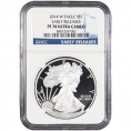 NGC Certified Silver Eagles (PF70UC)