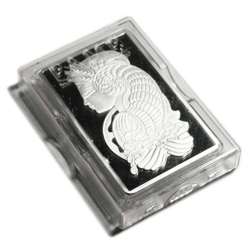 10 Troy Oz Pamp Suisse 999 Fine Silver Bar Fortuna Ebay