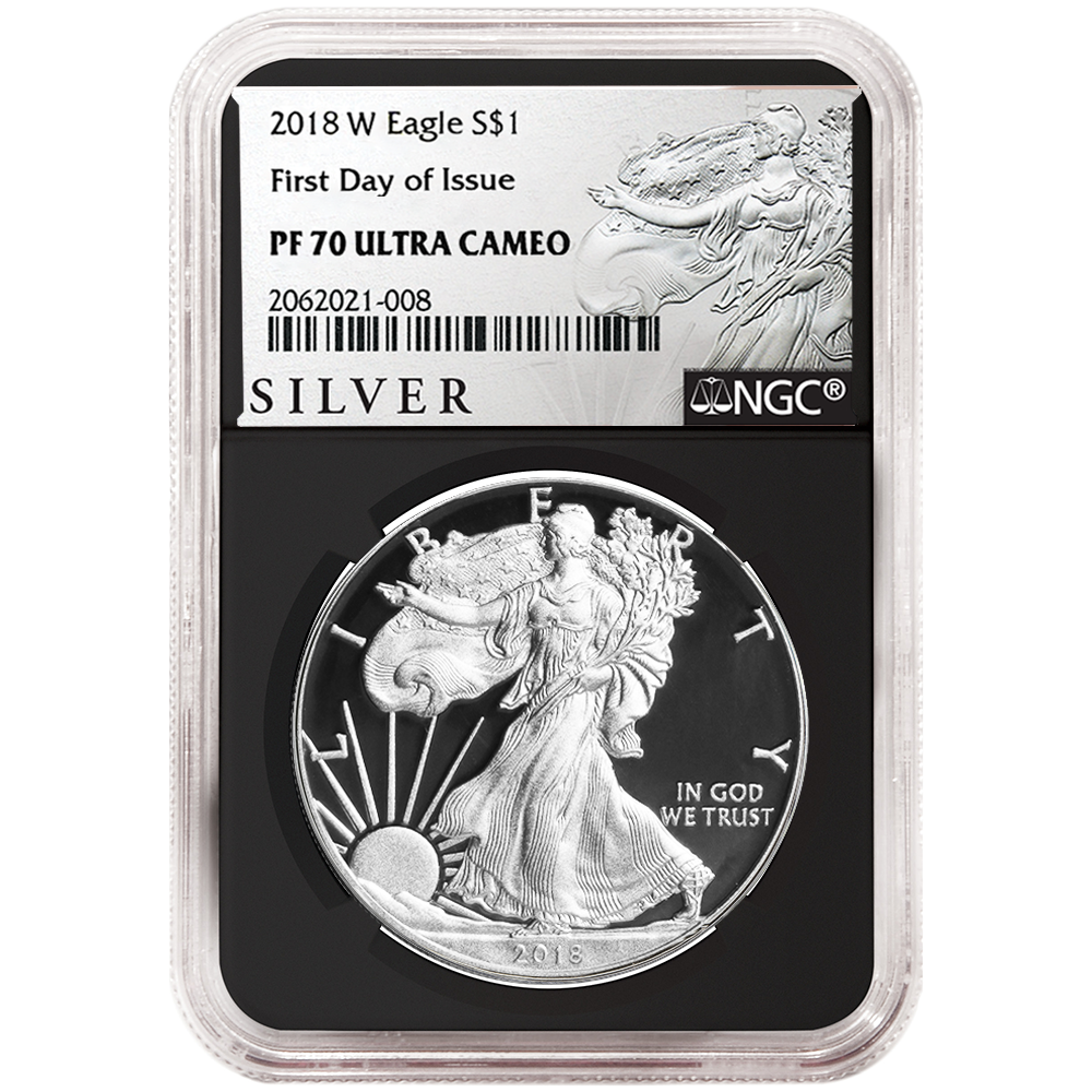 2018-S Limited Edition Silver Proof Set $1 American Silver Eagle NGC PF70UC Blac