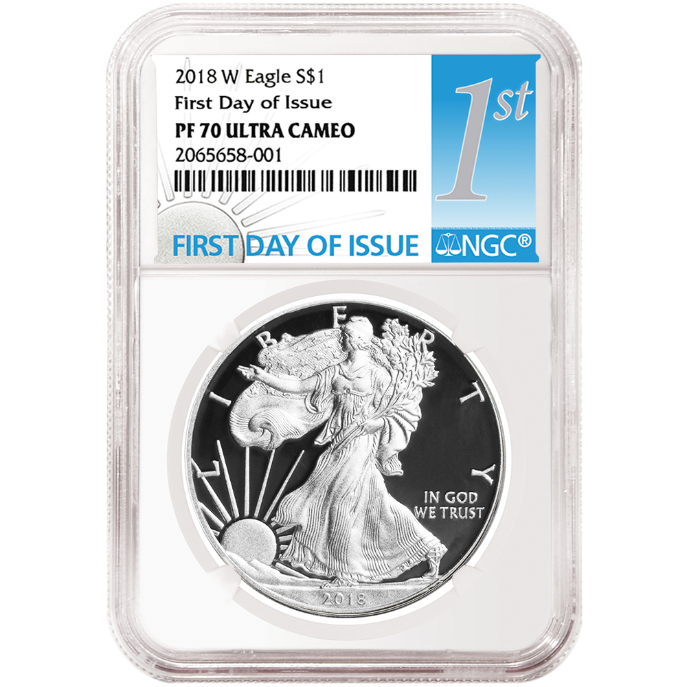 2020-W Proof $1 American Silver Eagle NGC PF70UC FDI First Label Retro Core