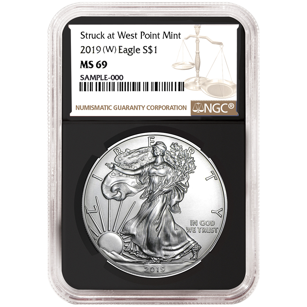2019 American Silver Eagle NGC MS69