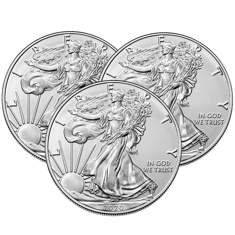 2019 $1 American Silver Eagle 1 oz Brilliant Uncirculated