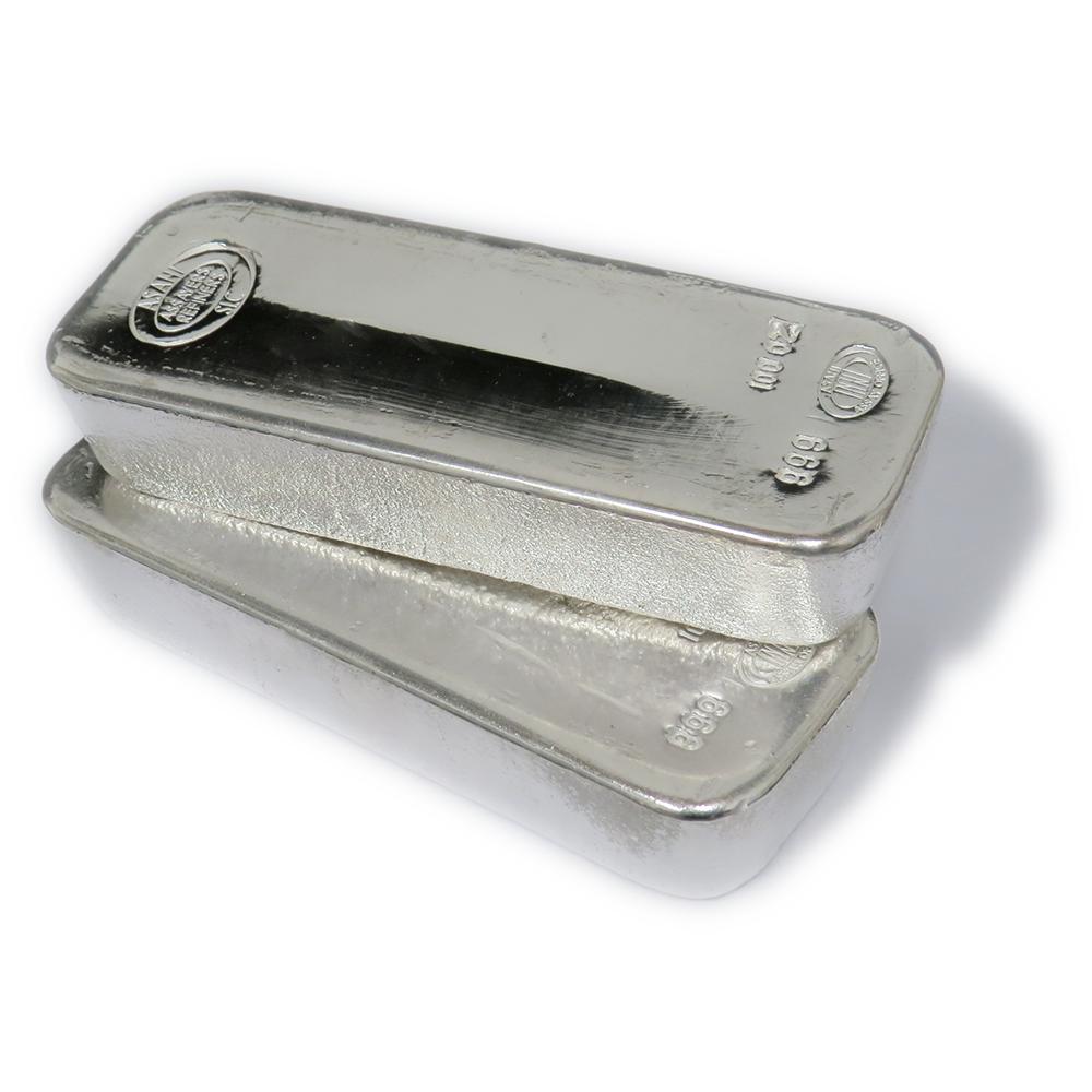 100 oz Asahi Silver Bar .999 Fine | eBay
