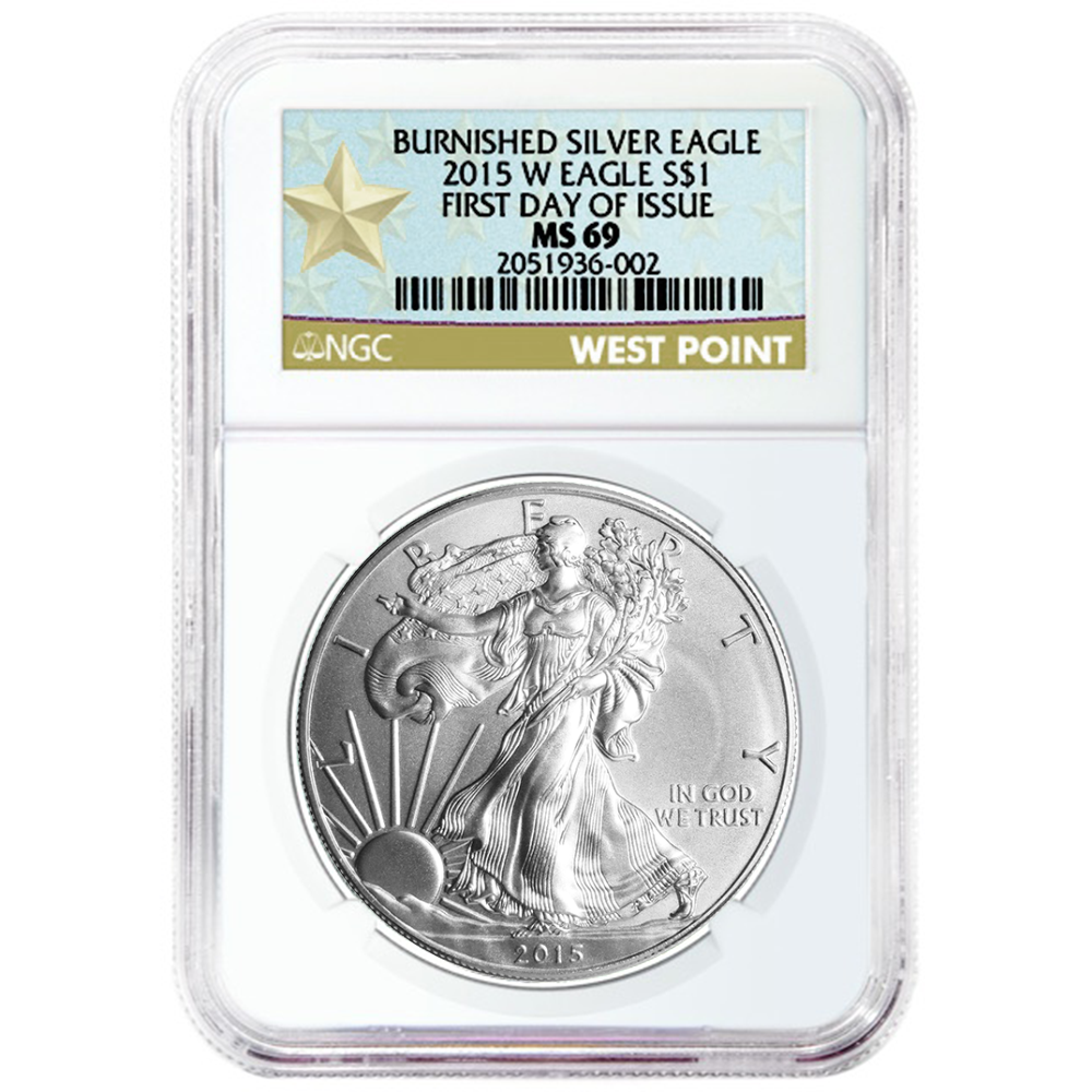 Red Book Label NGC MS69 2012 American Silver Eagle