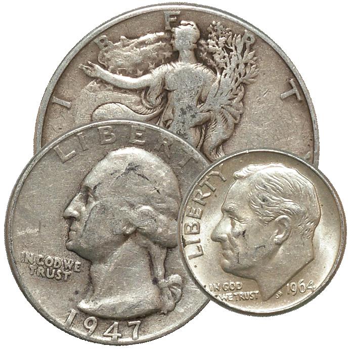 Rare dimes 1964