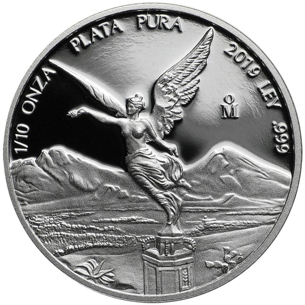 1//10 Onza BU 2019 Mexico Silver Libertad 1//10 oz