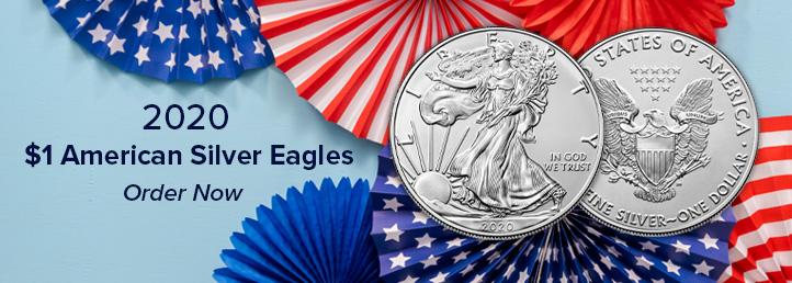 2020 $1 American Silver Eagle