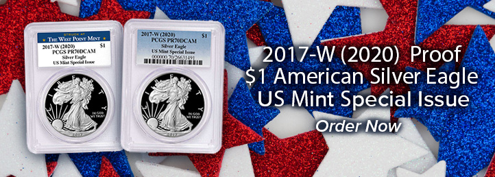 2017-W (2020) Proof American Silver Eagle US Mint Special Issue